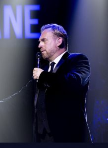 Jamie on tour with Jane McDonald 2019